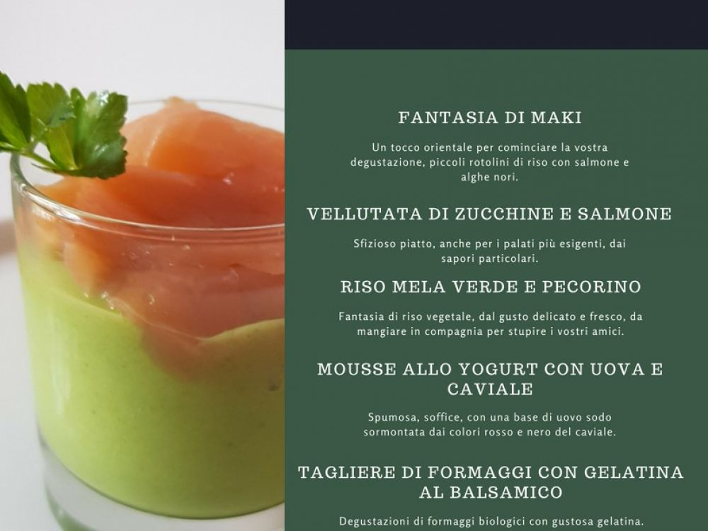 foto indicativa menu Finger Food