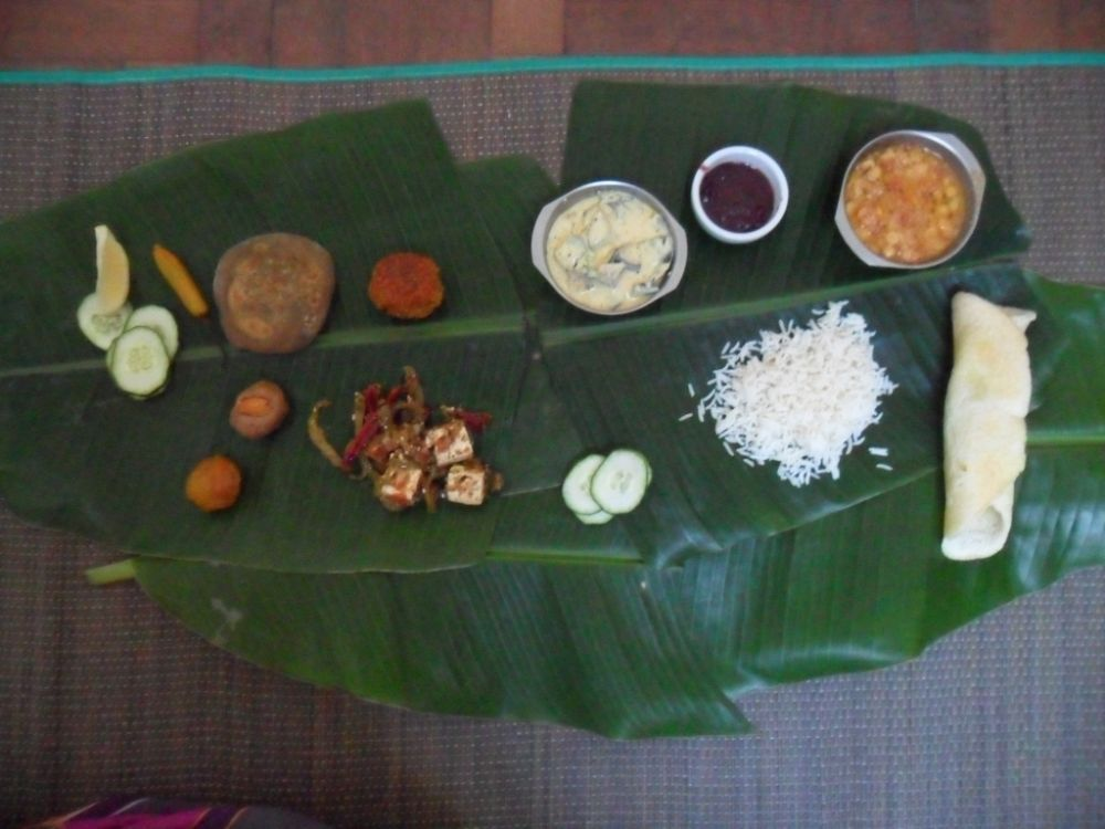 foto indicativa menu India Ayurvedica